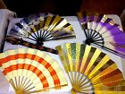 Japanese antique Folding fan sensu 4 sets Traditional craft rare Free shipping