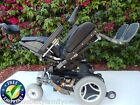 Permobil C300 Power Chair with TILT Used Wheelchairs Black