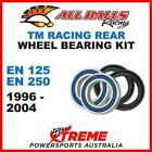 Rear Wheel Bearing Kit TM Racing EN125 EN250 EN 125 250 1996-2004, All Balls 25-