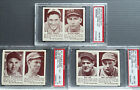 *HIGH-GRADE * 1941 Double Play 3 card lot PSA 8's Chicago Cubs Boston! baseball