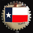USA STATE CAR GRILLE BADGES TEXASFLAG