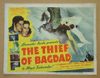 THIEF OF BAGDAD Conrad Veidt SABU June Duprez 11x14 TITLE LOBBY CARD