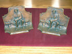 Antique Bronze Lincoln Bookends