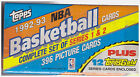 TOPPS BASKETBALL 1992-93 COMPLETE SET OF SERIES 1 AND 2 SEALED BOX
