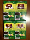 Folgers Classic Decaf Instant Coffee Crystals Single Serve Packets 4 BOXES NEW