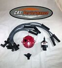 JEEP WRANGLER IGNITION TUNE UP UPGRADE KIT YJ TJ 1994 1997 40L 242 RED CAP