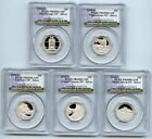 2010 S Silver National Parks Quarter Set PCGS PR69DCAM