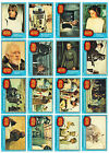 Incomplete Topps Series 1 Star Wars Trading Cards and Sticker Set-1977- 58 of 66