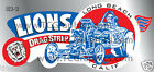 Lions Drag Strip Dragster Decal Sticker Pure Heaven
