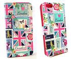 Apple iPhone 6 Hülle Tasche Love London Accessorize Diary Cover Schutzhülle