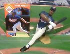1995  KIRBY PUCKETT - Starting Lineup - SLU - Loose Figure & Card - Minnesota