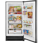 20.5 Cubic Foot Kenmore Elite Upright Freezer, Stainless with Lock!