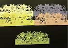 Daisy Edgeabilities Die Cuts Floral Dance 3D Set of Five Bazzill