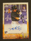 Jung Ho Kang 2015 Topps Chrome ROOKIE RC AUTO SIGNED CARD PIRATES # AR-JK