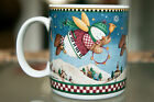 Sakura Debbie Mumm Snow Angel Village  2001 Coffe Mug Cup Very Good Condition