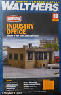 Walthers HO #933-4020 Industry Office (Building Kit) Plastic