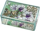 Orchids  Dragonfly Glass Box