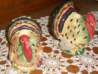 Floyd Thanksgiving Holiday Harvest Turkey Candlestick Holders