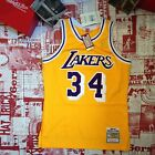 Shaquille O'neal 1996-97 Los Angeles Lakers Authentic Mitchell & Ness Jersey 40M
