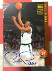 1998-99 Topps Autographs #AG18 Paul Pierce AUTO RC