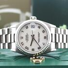 Rolex President Midsize Original Jubilee Dial 18K White Gold 31MM Watch 68279