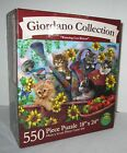 Karmin Giordano Collection Watering Can Kittens Cats 550+ Piece Puzzle