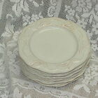 CERTIFIED INTERNATIONAL CUISINEWARE KARI DESIGN SALAD BREAD PLATE SET OF 6