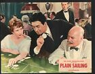 Plain Sailing Lobby Card-John Gregson with Cecil Parker and June Thorburn.