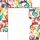 Reminisce MUSICAL INTERLUDE 12x12 Dbl Sided 2pc Scrapbooking Paper MUSIC NOTES