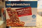 Weight Watchers SWEET  SALTY TOFFEE 3 Point Snack Bars NEW Sealed Box