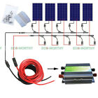 500W Solar Panel Kit  5100Watt 12V PV Solar Panel for Home Roof Caravan System