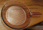 CORNING WARE GLASS VISIONS 10 INCH COOKWARE SKILLET WAFFLE BOTTOM