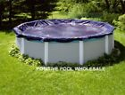 24 FT Above Ground Pool Winter Cover 8 year warranty
