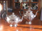 #1 ANTIQUE WILLIAM ROGERS  1047 HAMILTON ONTARIO SILVER PLATE Tea