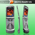 Original Mobile Phone Unlocked Motorola RAZR V3I Flip Cellphone Camera Bluetooth