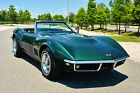 Chevrolet Corvette Convertible s Match 427 400HP Tri Power 4 Speed 1968 chevrolet corvette convertible 37 041 actual miles 427 v 8 4 speed very rare