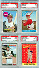 1954-70 Topps Baseball Lot PSA Mantle Clemente Rose, Maris Aaron, 1954 Robinson