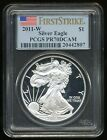 2011 W US 1 SILVER AMERICAN EAGLE COIN ++PCGS slabbed PR 70DCAM++ PERFECT
