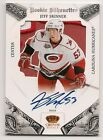10 11 CROWN ROYALE JEFF SKINNER ROOKIE SILHOUETTE PATCH AUTO 25