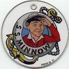 Gilligan Island Life Ring Pinball CoinOp Game Key Plastic Promotional Piece