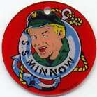 Gilligan Island Skipper Life Ring Pinball CoinOp Game Plastic Promotional Piece