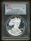 2010 W US 1 SILVER AMERICAN EAGLE COIN ++PCGS slabbed PR 70DCAM++