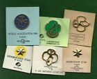 LOT OF NEW PACKAGED GIRL SCOUT PINS