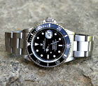 Rolex Submariner 16610 Black Dial & Stainless Steel Oyster, 1997 Mens Watch