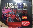 1993 MARVEL MASTERPIECES Factory Sealed Box(36 packs)- Serial #d bx FREE s