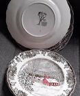 Johnson Brothers The Friendly Village 8 7/8  dinner plate lightly used
