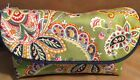 RAYMOND WAITES  JEWELRY TRAVEL BAG CASE GREEN PAISLEY NWT