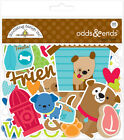 Scrapbooking Crafts Doodlebug Puppy Love Odds Ends Dogs Treats Hydrant Steak Paw