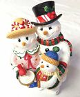 Fitz and Floyd Frosty Friends Christmas Musicals We Wish You A Merry Christmas