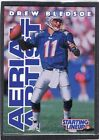 1996  DREW BLEDSOE - Starting Lineup Card - New England Patriots